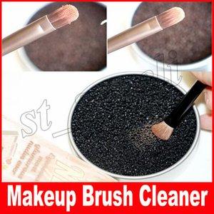Maquillage brosse de nettoyage lavage artefact éponge sèche brosse nettoyant lavage conseil de lavage cosmétique nettoyer boîte de fer outil