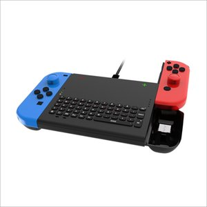 Mini Wireless Keyboard For Switch Main Engine 2.4G Link Game Control For NS Black Game Keyboard Gaming Accessories TNS-1702