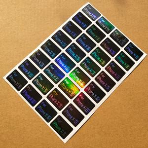 2.2X1.5CM Laser Label Mobile Phone Model Sticker Self-adhesive Coated Paper Sticker Custom Label Logo Trademark