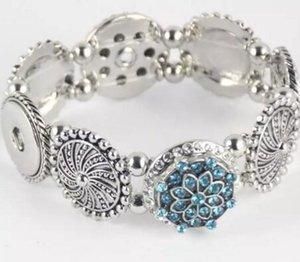 мода элегантный artistical snap ювелирные изделия браслет fit Noosa chunk snap сплава кнопки для женщин noosa кнопки браслеты