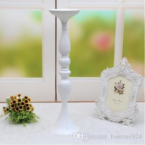 3 colors! Free shipping 50cm height metal candle holder candle stand wedding centerpiece event road lead flower rack home decoration