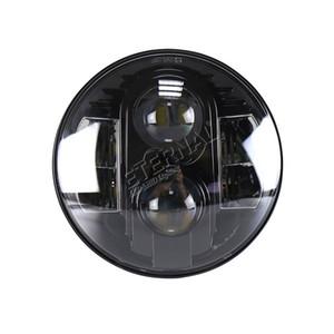 무료 배 7 인치 80W 오프로드 헤드 램프는 오토바이 랭글러 로버 험머 픽업 자동차 자동 80W 7 인치 원형 헤드 램프에 대한 DRL과 헤드 라이트 키트를 주도