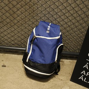 Basquetebol Mochilas New Esporte Packs Bolsas de Backpack homem de grande capacidade à prova d'água Viagem Formação Bolsas Sapatos Bolsas