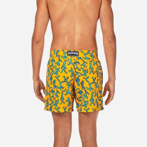 Vilebrequin Marca Bañadores Hombre tortuga Imprimir Bermuda Junta corta para hombre del cortocircuito del verano de los pantalones de la playa del desgaste atractivo de secado rápido