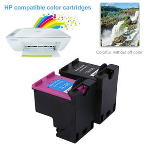 Freeshipping HP901 XL HP901 Için 2 Adet 901 Renkli / Siyah Mürekkep Kartuşları Için HP OfficeJet 4500 J4580 J4550 J4540 J4680 J4535 Yazıcı