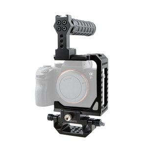 CAMVATE C-frame Cage With Top Handle And Rod Clamp For Sony A7s A7RII A7s2 A7sII A7r3 A73 A9 Item Code: C1861