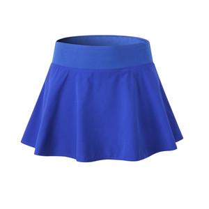 Women Fake Two Yoga Training Short Skirts Shorts Ladies Anti-light Fitness Lining Shorts Quick Dry Girls Sports Skirt Tennis Dance Miniskirt