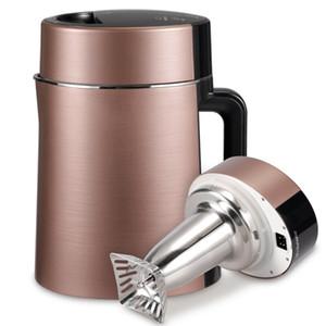 220V 1000w 900-1300ml Soymilk machine à jus extracteur Juicer Mixer Réservation 304 en acier inoxydable Entièrement automatique 242x185x300mm