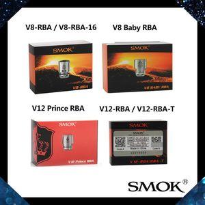 SMOK V12-RBA / RBA-T V8 Baby RBA Bobina V12 Prince RBA Core V8-RBA / RBA-16 Bobine per TFV8 Baby TFV12 Prince Tank 100% originale
