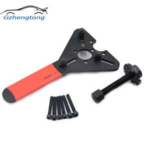 Gzhengtong 자동차 AC 도구의 R134a R12 압축기 클러치 철거 조합 렌치 자동차 에어컨 수리 도구