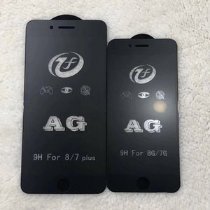 لفون Xs Max XR X 8 7 Plus واقي شاشة زجاج مقوى واقي شاشة فيلم Anti-fingerprint 2.5D 9H