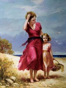 Resim boyama ev dekor tuval Hiçbir Çerçeve yağlıboya hediye zanaat baskı keman kız