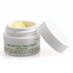 Crema cremosa para el cuidado de los ojos con aguacate 14 g hidratante profunda Crema nocturna para el aguacate Cuidado de la piel