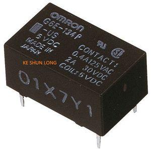 Free shipping lot (5pieces lot) 100%Original New G6E-134P-ST-US-5VDC G6E-134P-ST-US-5V G6E-134P-ST-US-DC5V 5PINS 2A 5VDC Signal Relay