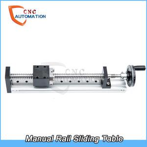 Ballscrew Руководства Рельс, фуговальных Маховик с Блокировкой устройство SFU1605 Ballscrew суппорт движение Linear Guide CNC DIY