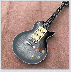 Ace Frehley signature guitar grey flame maple gloss finish cream 3 pickups electric guitar