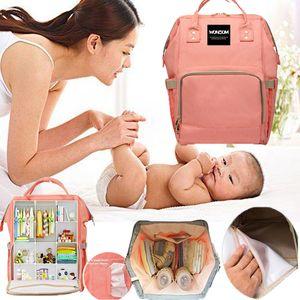 Large Capacity Mummy Maternity Diaper Bag Mom Nursing Backpack Care Baby Bag Wonzom Waterproof Mama 2018 For Baby Desinger Uscis