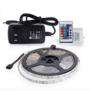 أدى 5 متر 300 المصابيح غير ماء rgb بقيادة قطاع الخفيفة smd2835 dc12v 60 المصابيح / m الإضاءة مرنة سلسلة الشريط الشريط مصباح الديكور مصباح المنزل