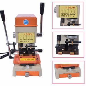 DeFu-998C El Mejor Coche Usado Silca Key Cutting Machine Auto Lock Pick Gun Ganchos Juego Conjunto Puerta de Coche Abierta