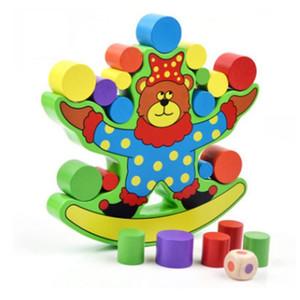 giocattoli in legno FlyingTown Multicolor prescolare giocattoli Montessori educativi per i bambini del bambino la costruzione di blocchi di giocattoli all'ingrosso