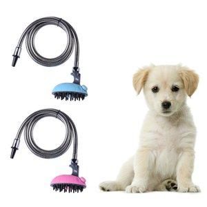 Nuovi arrivi Pet Dog Cat Multifunzionale Bagno Doccia Testa Massaggio Shampoo Spruzzatore Animale Artefatto Ugello Bagno Massaggio