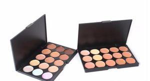 Professional 15 Colors Concealer Foundation Contour Face Cream Makeup Palette Pro Tool for Salon Party Wedding Daily