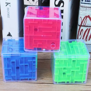 شحن مجاني المتاهة ماجيك الكرة 3d ثلاثي الأبعاد ستة جوانب شاوقوان الاهتمام لغز الطفل الحضانة اللعب