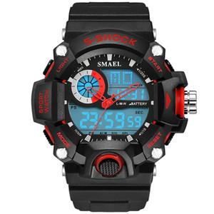 SMAEL Relojes Hombres Ejército Militar Reloj Para Hombre Reloj Led Digital Reloj Deportivo Hombre Regalo Analógico S Choque Automático Reloj Hombre