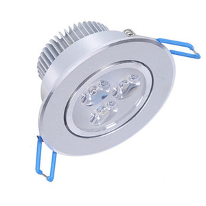 LED Downlights 9W LED Plafonnier Encastré Spot LED Eclairage 85V-265V 110V 220V éclairage à la maison