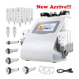 ¡¡¡Nueva llegada!!! 6 en 1 máquina de adelgazamiento de la frecuencia de radio del vacío de la cavitación para el envío rápido expreso del balneario