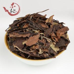 Preference Fuding White Shoumei Lao Bai Cha,300g Green Food Old White Tea Cake Natural Health Care