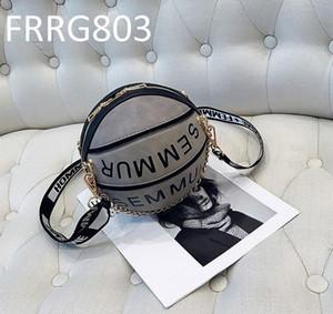 Basketball Crossbody Sac à bandoulière pour femme Sac à main Designer rond Marque célèbre Sacs de mode Tote bags Embrayage Cartable Hobos Sacs
