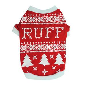 8 Pz / lotto Pet Dogs Maglione Cat Inverno Caldo Maglione Natale Cappotti in maglia Outwear Apparel 2 Modelli Vestiti del cane per cani