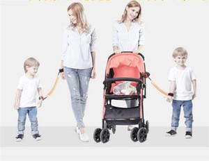 1.5 M Crianças Anti Perdido cinta Crianças Pulseira de Segurança Ligação de Pulso Da Criança Arnês Cinto de Lã Pulseira do bebê Coleira de Pulso Andando Y143