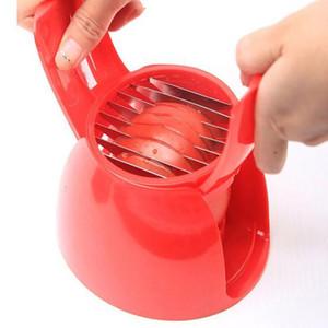 Tomates en plastique Trancheuse Pour Onion Pommes De Terre Chopper Fruits Broyeurs Légumes Cutter Accessoires De Cuisine Outils De Cuisine