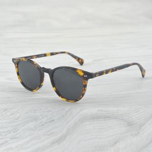 Occhiali da sole da donna Occhiali da vista da donna marca oliver ov5318 Delray Designer occhiali da sole polarizzati gotici maschili ovali femminili occhiali da sole rotondi
