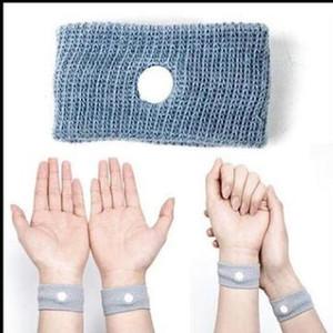 Anti nausée taille soutien poignets de sport Bracelets de sécurité Carsickness Seasick Anti-mouvement Sickness Motion Sick Bandes de poignet