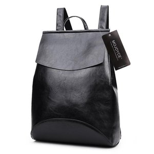 2018 New PU Leather Backpack Shoulder Bag Backpack Women School Bags for Teenage Girls Back Pack Women Bolsa Mochila feminina