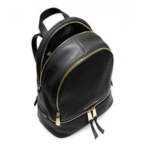 zaini di marca famosi designer moda donna signora nero rosso zaino borsa charms zaino stile 5 colori