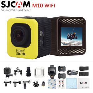 Оригинал SJCAM M10 Wifi Действий Камеры Мини 1080 P Full HD Водонепроницаемый 30 м Шлем Sport DV Автомобильная Видеокамера Тире DVR