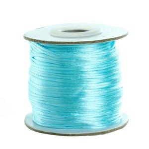 1.5mm Macrame Cord Beading Cord Thread Soft Satin Rattail Seda Nylon Kumihimo Para Diy Joyería Que Hace F5177