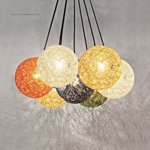 Lampadario moderno creativo a forma di lampadario a sospensione Lampade moderne Lampade Cafe Illuminazione LED Loft Bar Lampada Camera Droplight Store