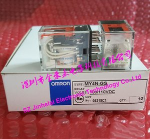 Yeni ve orijinal OMRON MY4N-GS 100 / 110VDC RÖLE DC110V (alternatif MY4N-J MY4NJ)