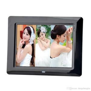 Moda ultra-ince 8-inch yüksek çözünürlüklü dijital fotoğraf çerçevesi LED elektronik fotoğraf çerçevesi tam format oyuncu reklam video oynatıcı