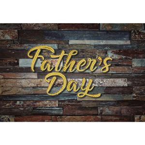 Heureux fête des pères toile de fond en bois vintage pour studio de photographie 3e dimanche de juin papa fête thème fond de fond