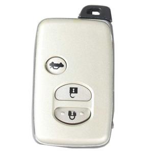 3 Tasten Smart Remote Key Shell passend für Auto TOYOTA Camry Crown Highlander Venza Case