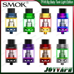 SMOK TFV8 Big Baby Tank Light Edition 5 ML TFV8 Big Baby Zerstäuber, aktualisiert mit austauschbarem LED-Bodenlicht 100% Orginal