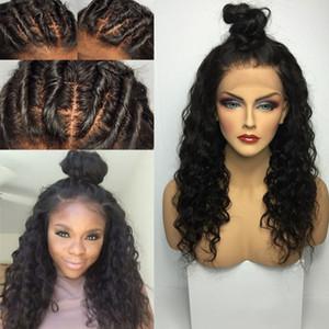 Glueless Silk Base Top volle Spitzeperücke brasilianisches reines Haar lockiges Menschenhaar Perücken Lace Front Perücken gebleichte Knoten Baby Haar auf Lager