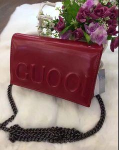 Новый 2018 Европейский и американский мода женская сумка Сумка склонны сумка Ms цепи пакет