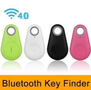 Buscador inteligente Buscador de llaves Rastreador inalámbrico de Bluetooth Alarma anti perdida Etiqueta inteligente Bolsa para niños Localizador de mascotas Itag Tracker para iPhone